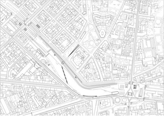 Planimetria piano stradale