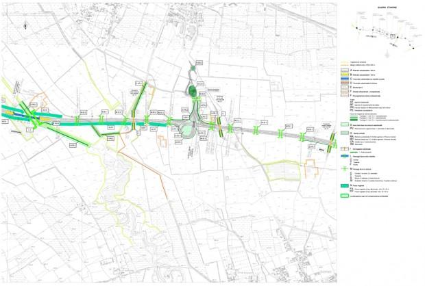 Planimetria di progetto 1:5000
