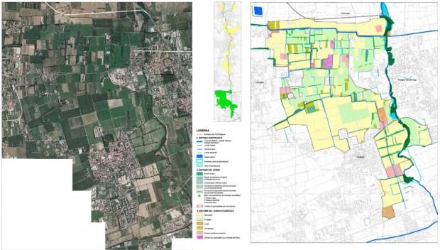 Analisi ambientale - foto aerea e quadro di riferimento paesaggistico ambientale