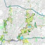 Visione d'insieme anteprima dell'assetto territoriale del parco