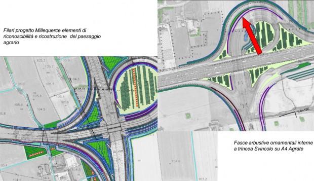Le azioni mitigative: ricomposizione quadro paesaggistico, sicurezza stradale