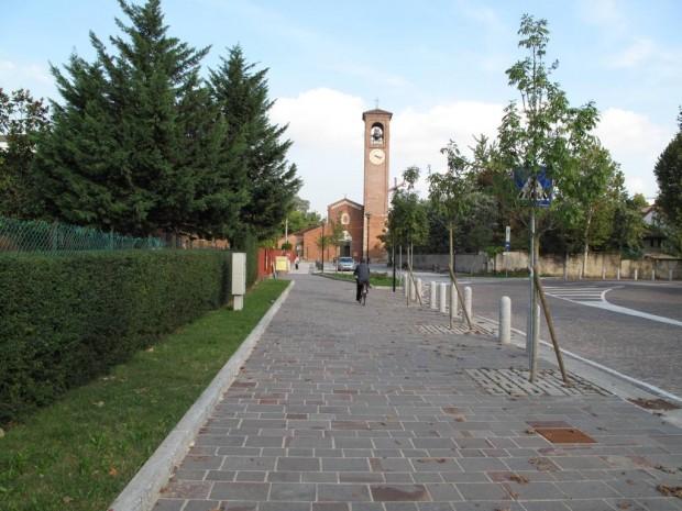Riqualificazione Via dell'Acqua antistane la Chiesa San Giuliano