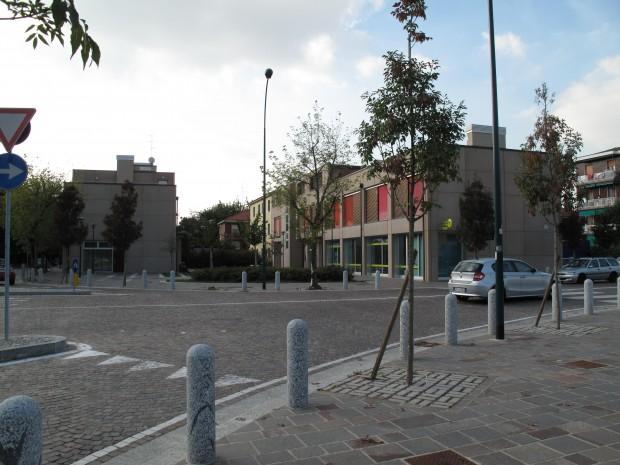 Vista incrocio e Piazza della Posta