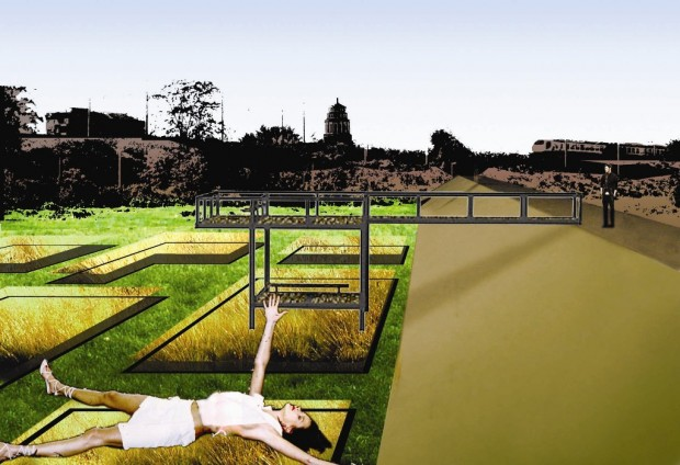 Render dei giardini Tematici