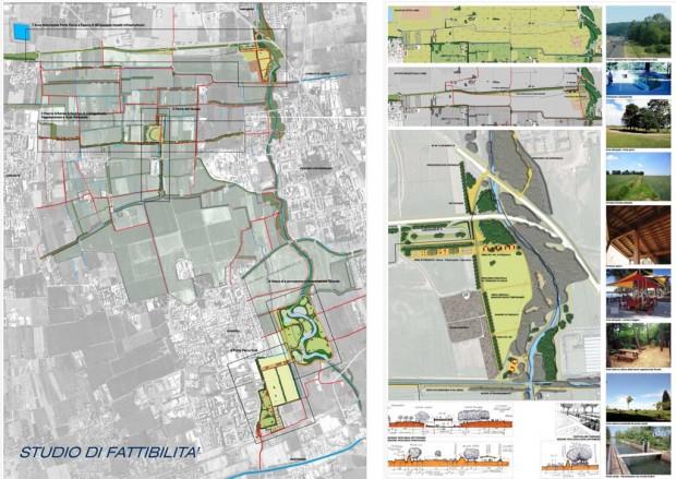 I cinque progetti e l'area attrezzata Porta Parco Nord
