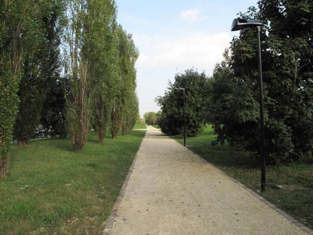Nuovo percorso nel Parco Cimitero