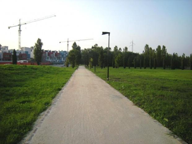 Nuovo percorso asse sud Parco del Cimitero