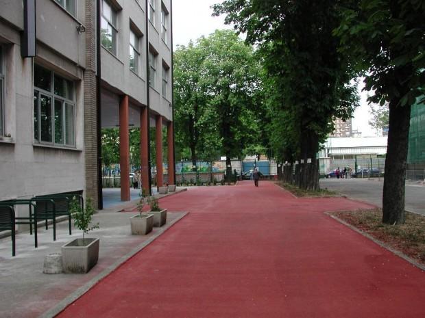 2005 Plesso Galli Breda.Ingresso principale