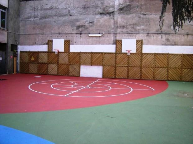 2008 Scuola elementare Oriani.Parete atrezzata gioco