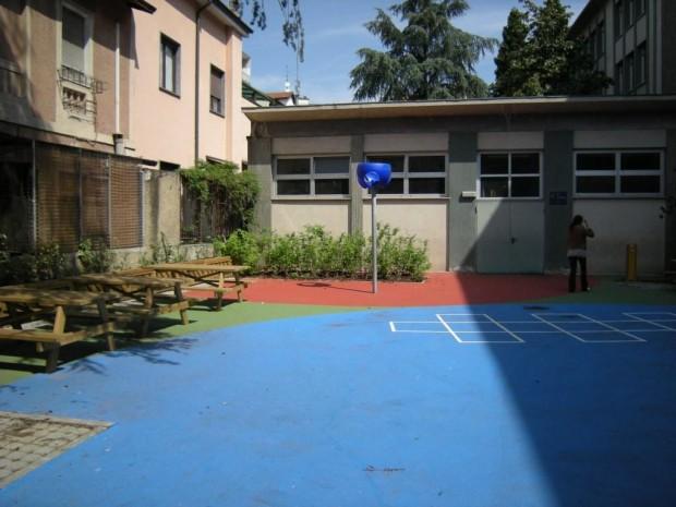 2008 Scuola elementare Oriani.Pavimentazioni colorate