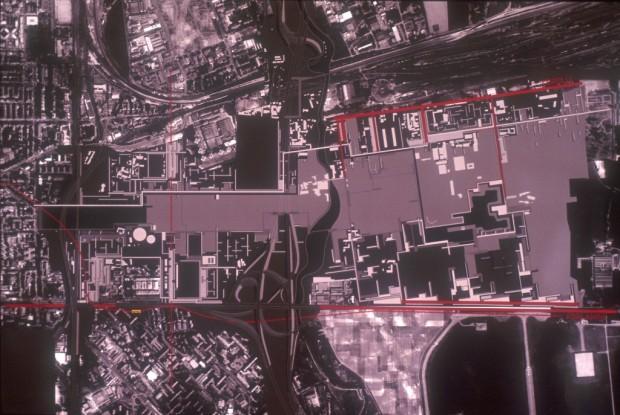 Schema dei collegamenti infrastrutturali col parco